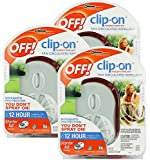 OFF! Mosquito Clip-On Fan Starter, 3-Pack
