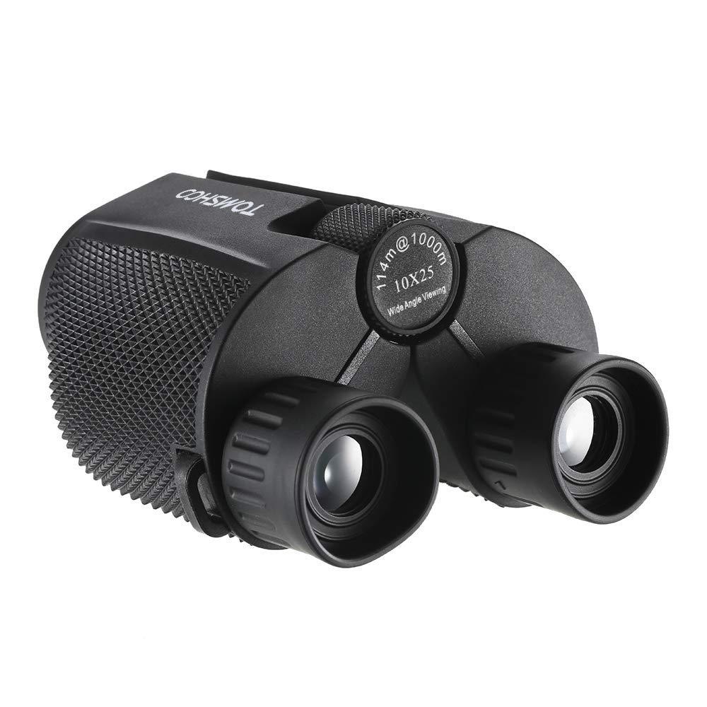 TOMSHOO Jumelles Compactes 10x25 Légère Télescope Binoculaire pour Randonnée Camping Observation des Oiseaux Concert product image