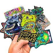 Sticker Savages Exclusive Sticker Subscription Box