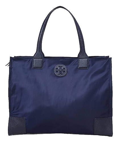 d90a3c07864 Amazon.com  Tory Burch Women s Authentic Ella Packable Tote Navy Blue