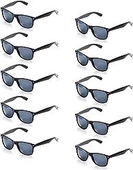 78d1df60c734d1 ONNEA 10 Paare Party Favors Sonnenbrille Set Sommer Kinder Damen (Schwarz 10 -Pack)