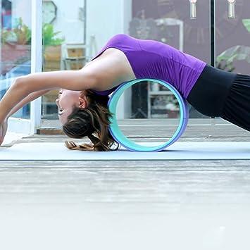 CWDXD Rueda Yoga para Rueda de Yoga para Estiramiento ...