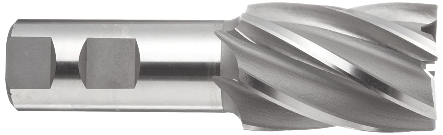3.8750 Overall Length Weldon Shank Uncoated 0.75 Shank Diameter Bright 30 Deg Helix Melin Tool C Cobalt Steel Square Nose End Mill Non-Center Cutting 0.7500 Cutting Diameter Finish 4 Flutes