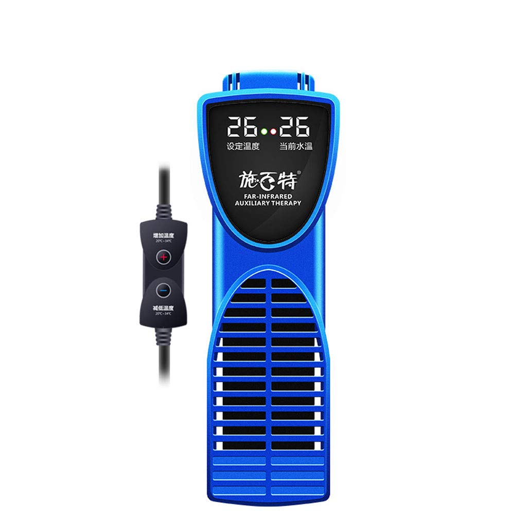 bluee 300W bluee 300W Xinjin-C Aquarium Heaters Smart Digital Screen,External temperature control And Intelligent Thermostat,Multi-function Fish Tank Heater