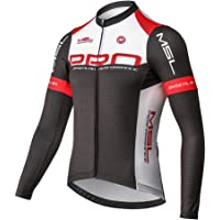 Mysenlan Hombre Jersey de Ciclismo Maillot Ropa Manga