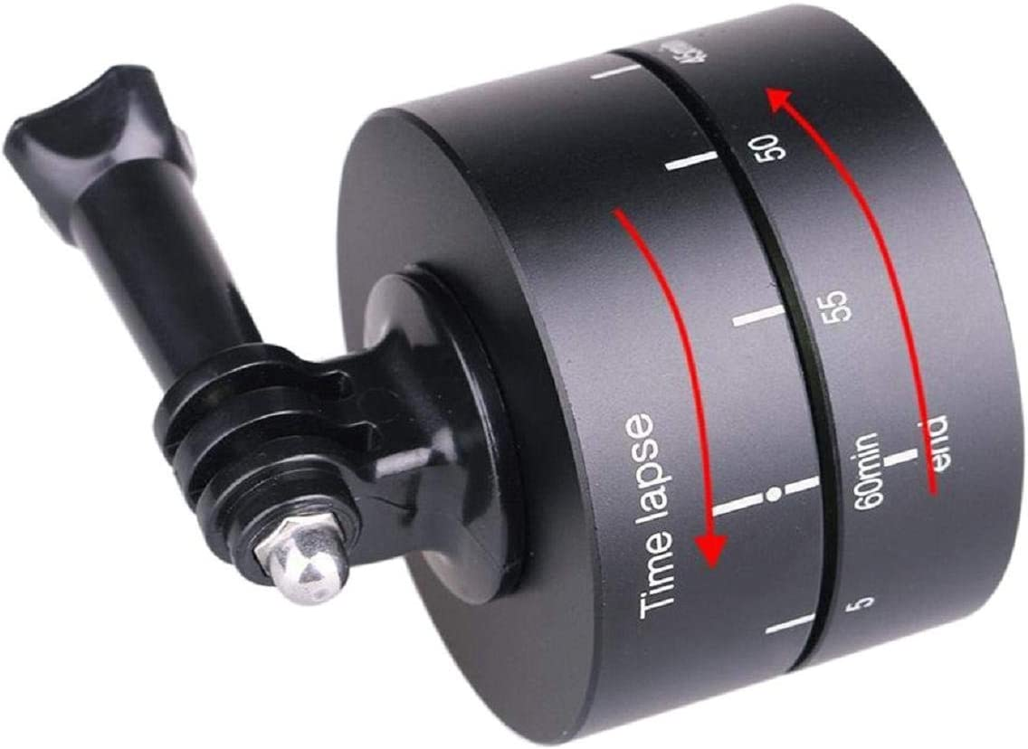 360 Degree Rotation Mount 60 Min Time Lapse Panorama with Variable Speed Time and Direction Perfect for DJI OSMO Action Camera Cinhent Panoramic Time Lapse Tripod Head