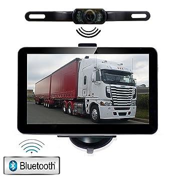 """YQTEC 7"""" Navegador GPS con Bluetooth, Cámara Trasera, Actualización Gratis de Mapa"""