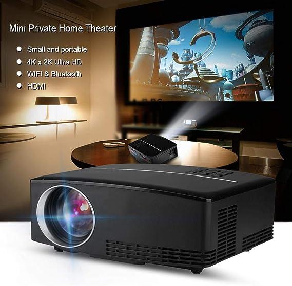 Proyector portátil Mini proyector, 4K x 2K Ultra HD HDMI Media ...