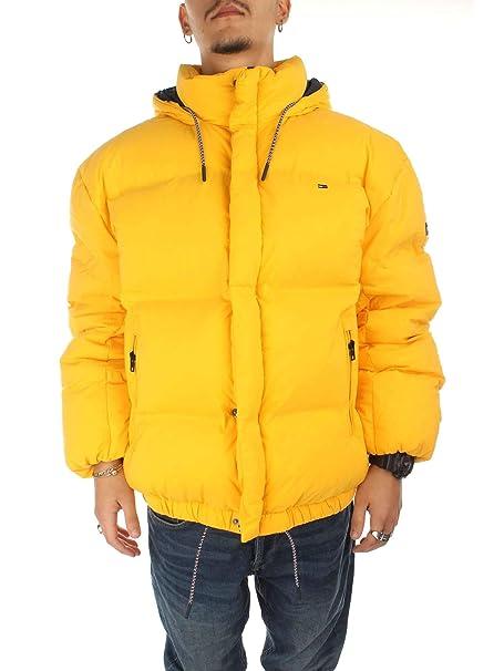 Tommy Hilfiger DM0DM05032700 Chaquetas Hombre Amarillo XS: Amazon.es: Ropa y accesorios