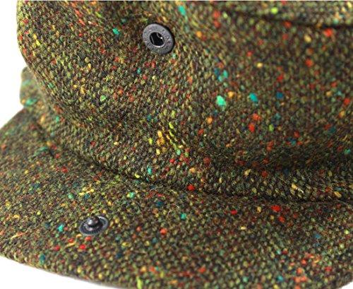 0ba22fc427328 John Hanly Irish Tweed Caps Green Fleck Made in Ireland - Import It All