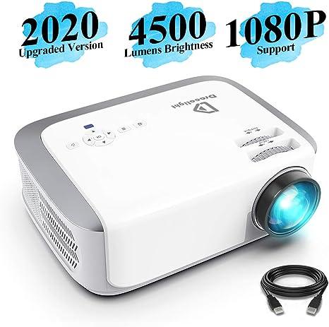 Amazon.com: Proyector, DracoLight 4500 Lux proyector de ...