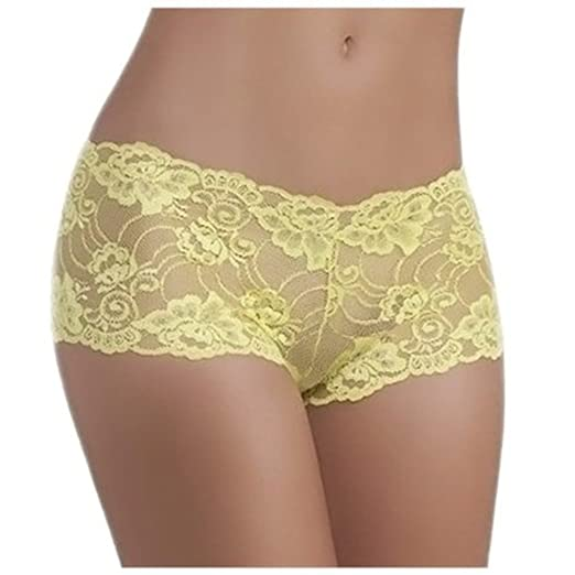Brazilian Very Sexy Hipster Lace Panties Panty Made In Brazil Assorted Colors Small