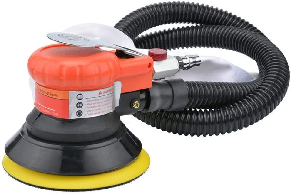 5-inch disc pneumatic polishing machine Portable Practica Pneumatic Products With dust-absorbing 125mm pneumatic sanding hand-held sandpaper machine Hand Tools Industrial