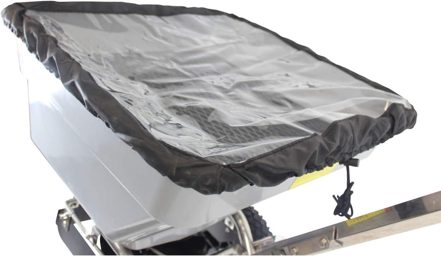 Jardiaffaires Epandeur de sel /à Pousser Grande capacit/é 42kg ch/âssis INOX