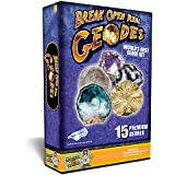 World's Best Geode Kit - Crack Open 15 Rocks and Find Crystals!