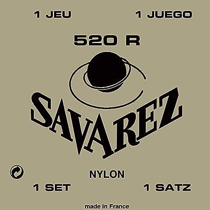 Savarez 520R - Juego cuerdas para guitarra clásica: Amazon.es ...
