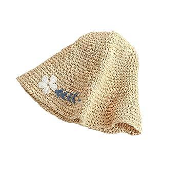 Honey Gorros De Flores Sombrero De Paja De Mujer A Mano De Ganchillo  Bordado Plegable Sombrero d388d1fd3c8