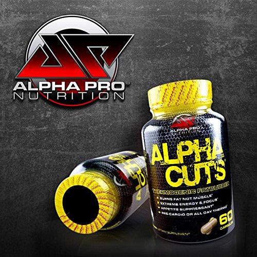 Alpha Cuts Capsules, NEW! Fat Burner, Weight Loss, Pre Workout, Alpha Lipoic Acid, Best Fat Burner, Alpha Pro Nutrition, capsules