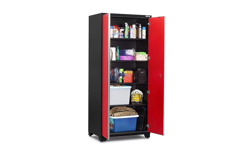 52205 NewAge Products Pro 3.0 Series Red 36 Locker Cabinet Garage Cabinet