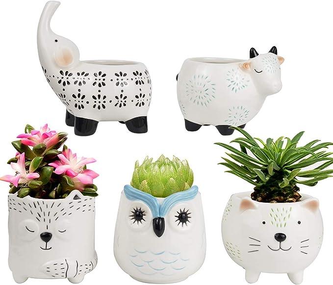 Cute Ceramic Animal Set