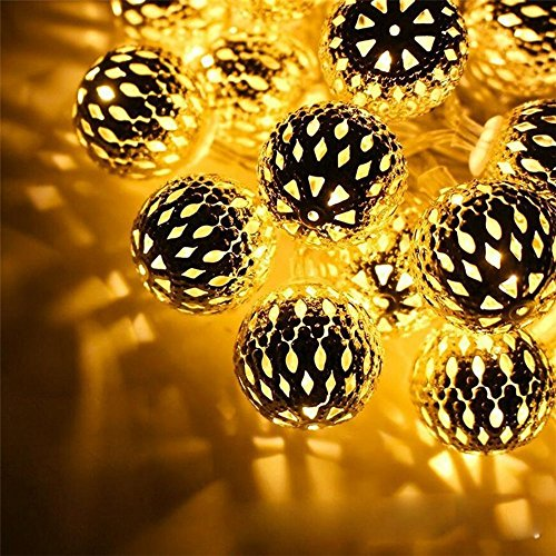 Lighted Outdoor Christmas Ball Ornaments