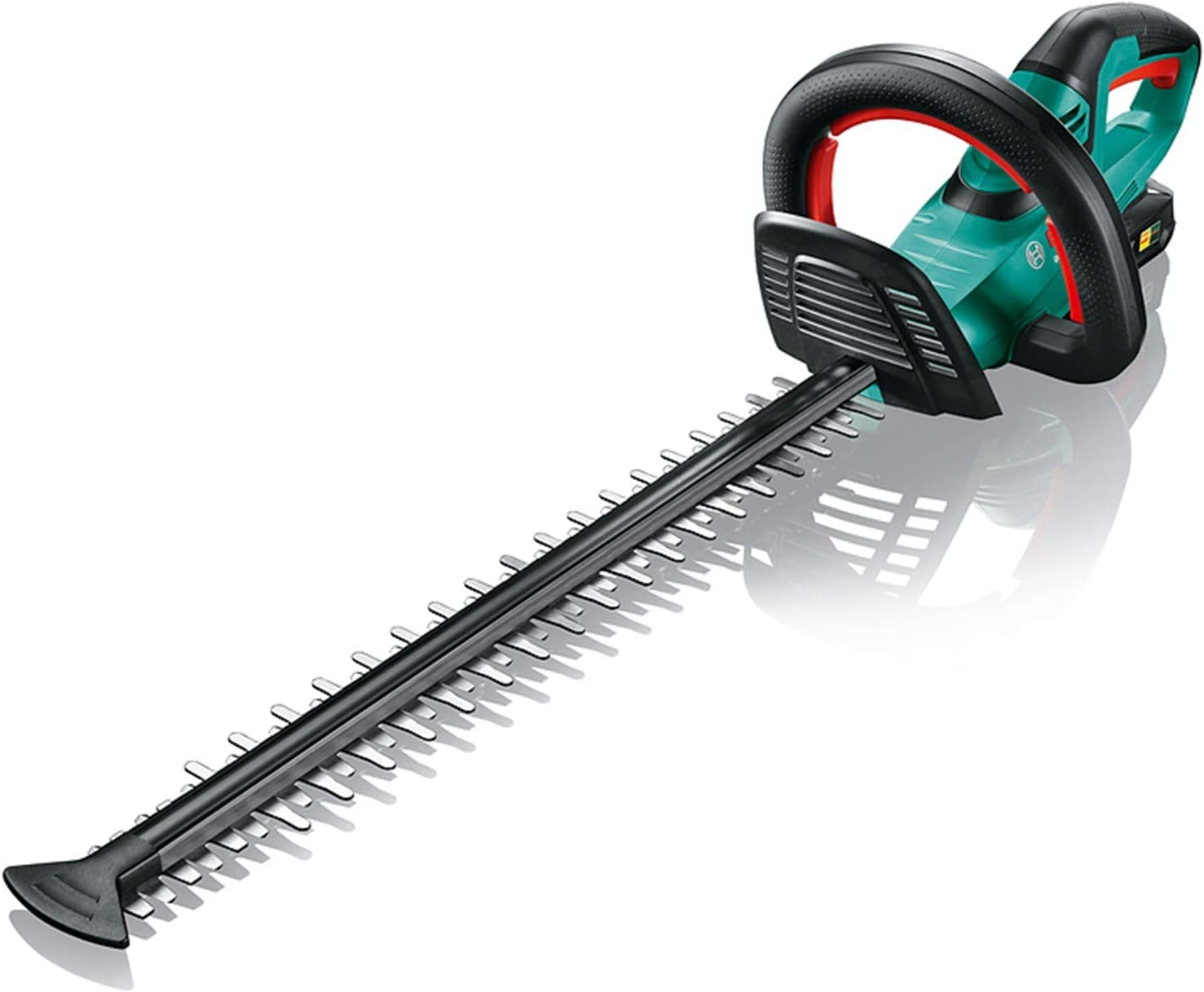 Bosch Recortadora de setos de batería AHS 50-20 LI (1 batería, sistema de 18 voltios, longitud de corte 50 cm, distancia de cuchilla 20 mm, en una caja)