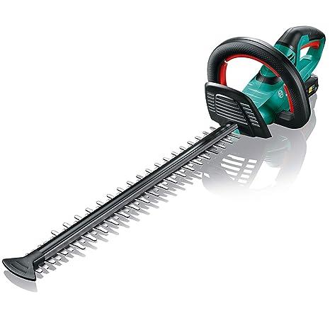 Bosch AHS 50-20 LI - Tijeras cortasetos a batería (caja de cartón, longitud de corte: 50 cm, distancia entre las cuchillas: 20 mm, sistema de 18 V, ...