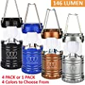 [1Pack and 4Pack] LED Lantern - Camping Lantern - Camping Equipment Lights - for Hiking, Emergencies, Hurricanes, Outages, Storms, Camping - Best Gift Ideas