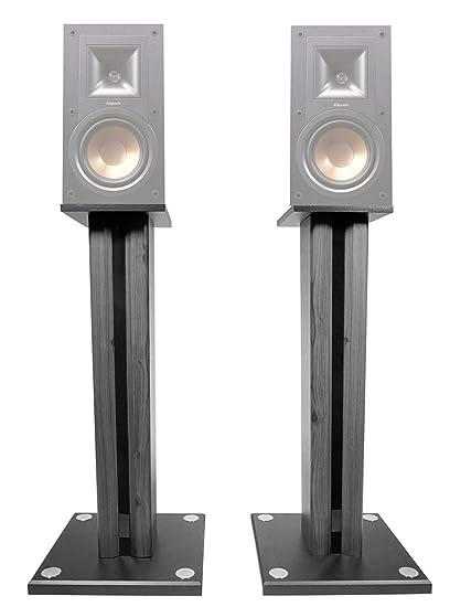 Technical Pro Pair 26quot Bookshelf Speaker Stands For Klipsch R 15M Speakers