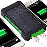 Best unknown Tablet Gps - Solar Charger, Coversuit 30000mAh Dual USB Solar Battery Review