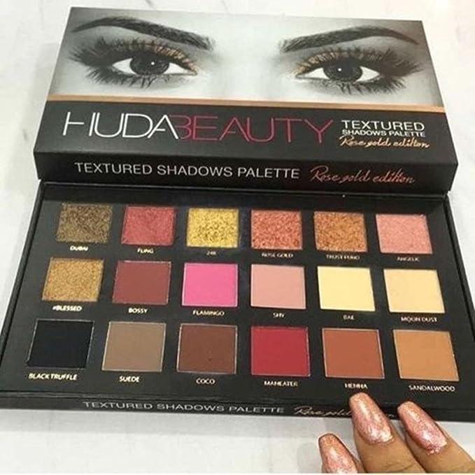 1 opinioni per Huda Beauty Palette di ombretti rosa/dorati