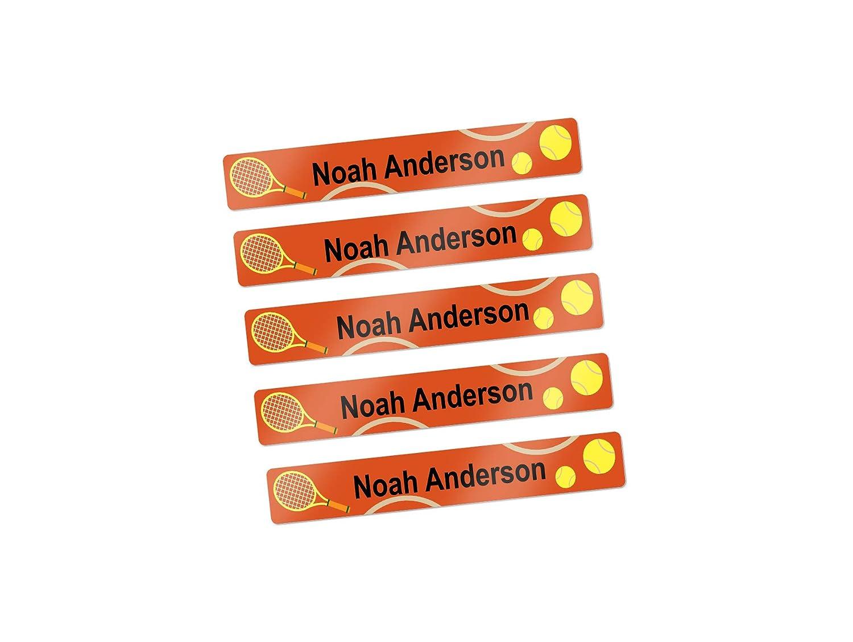Mini school supply labels name labels for kids pen pencil labels tennis