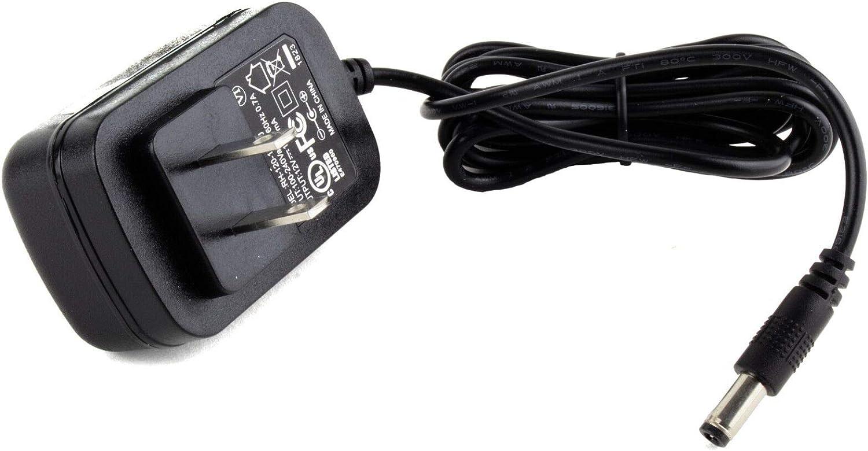 MyVolts 12V Power Supply Adaptor Compatible with Pioneer DDJ-WeGO4 DJ Controller US Plug