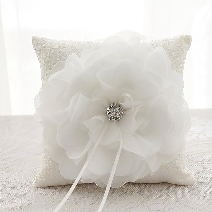 Amazon.com: Kln _ Vestido Flor de Puffy de diamante encaje ...