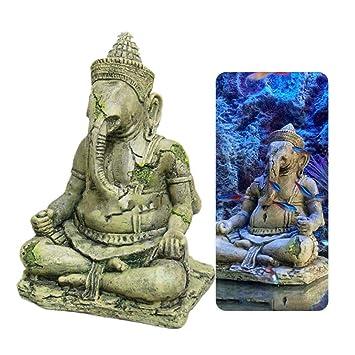 Womdee Mini Buda Estatua para Tanque de Peces, Acuario Decoraciones ...