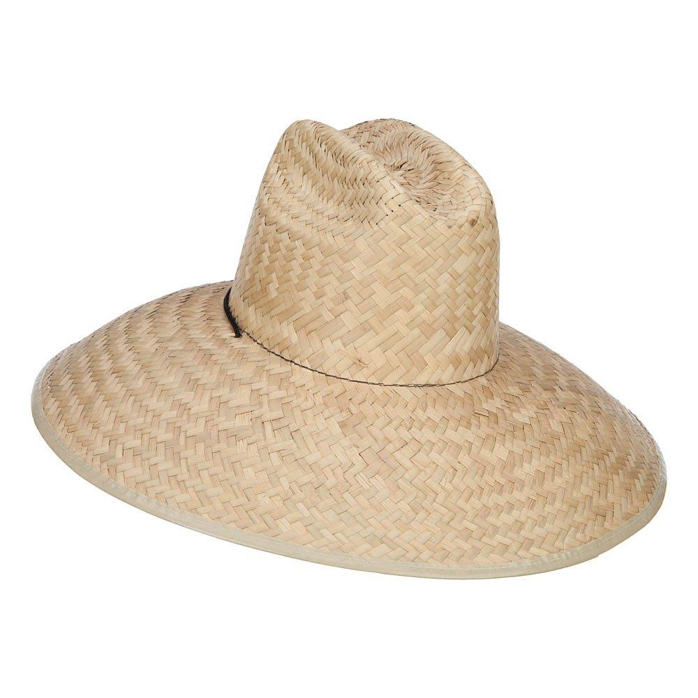 13806ebaa67da Solid Wing Men s Crushed Safari Straw Hat - Light Natural OSFM  Amazon.ca   Clothing   Accessories