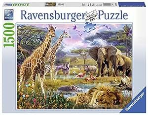 Ravensburger 163335 1500pieza(s) rompecabeza - Rompecabezas (Jigsaw puzzle, Fauna, Adultos, 14 año(s), Hombre/Mujer, 800 mm)