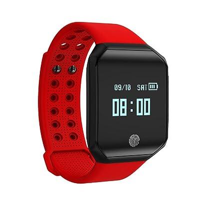 RFJJ Perseguidor de la aptitud, relojes elegantes de la pulsera Relojes de la actividad con