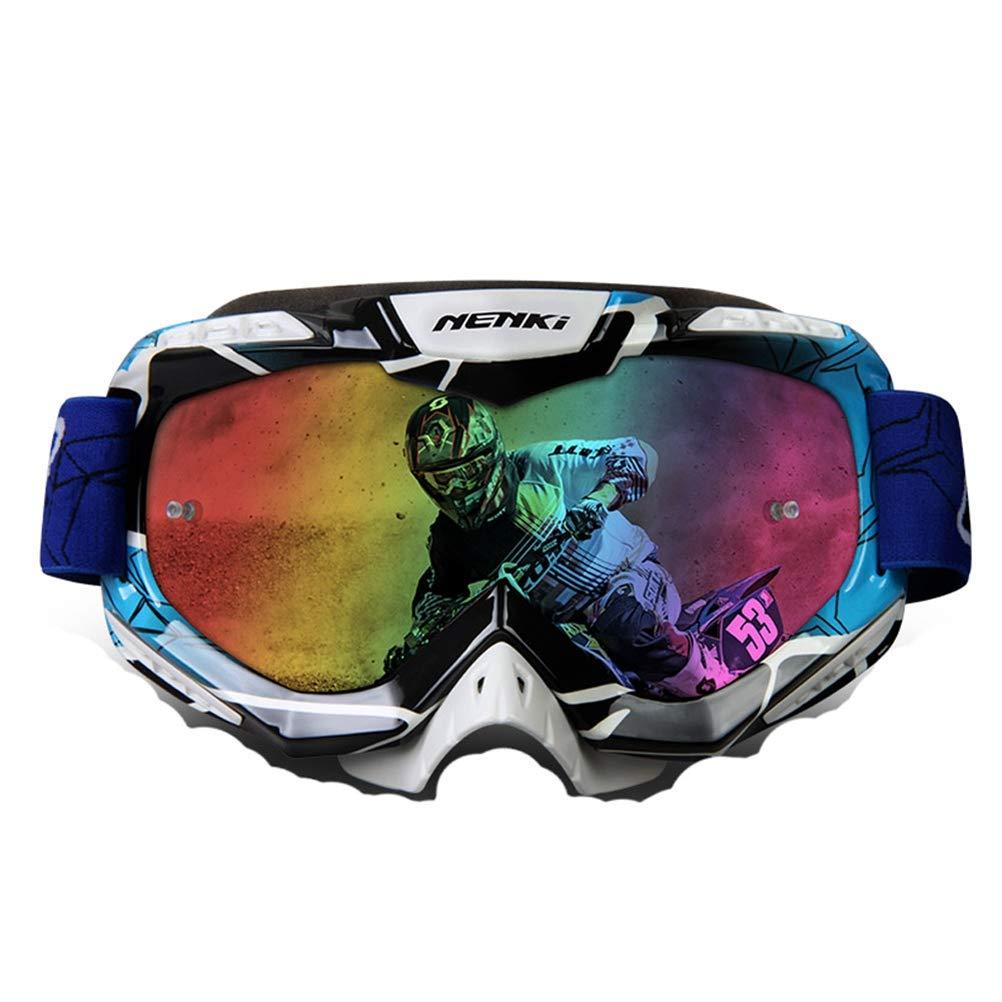 Gafas de Motocross Moto Hombres Mujeres Gafas de Moto Casco Motocross Gafas Dirt Bike ATV MX BMX DH MTB Gafas