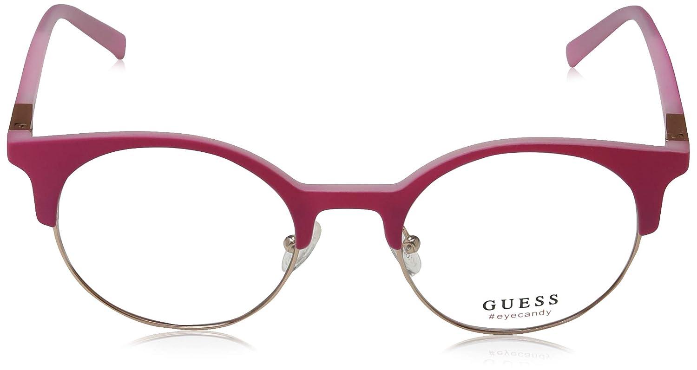 Amazon.com: anteojos Guess GU 3025 073), color rosa mate ...