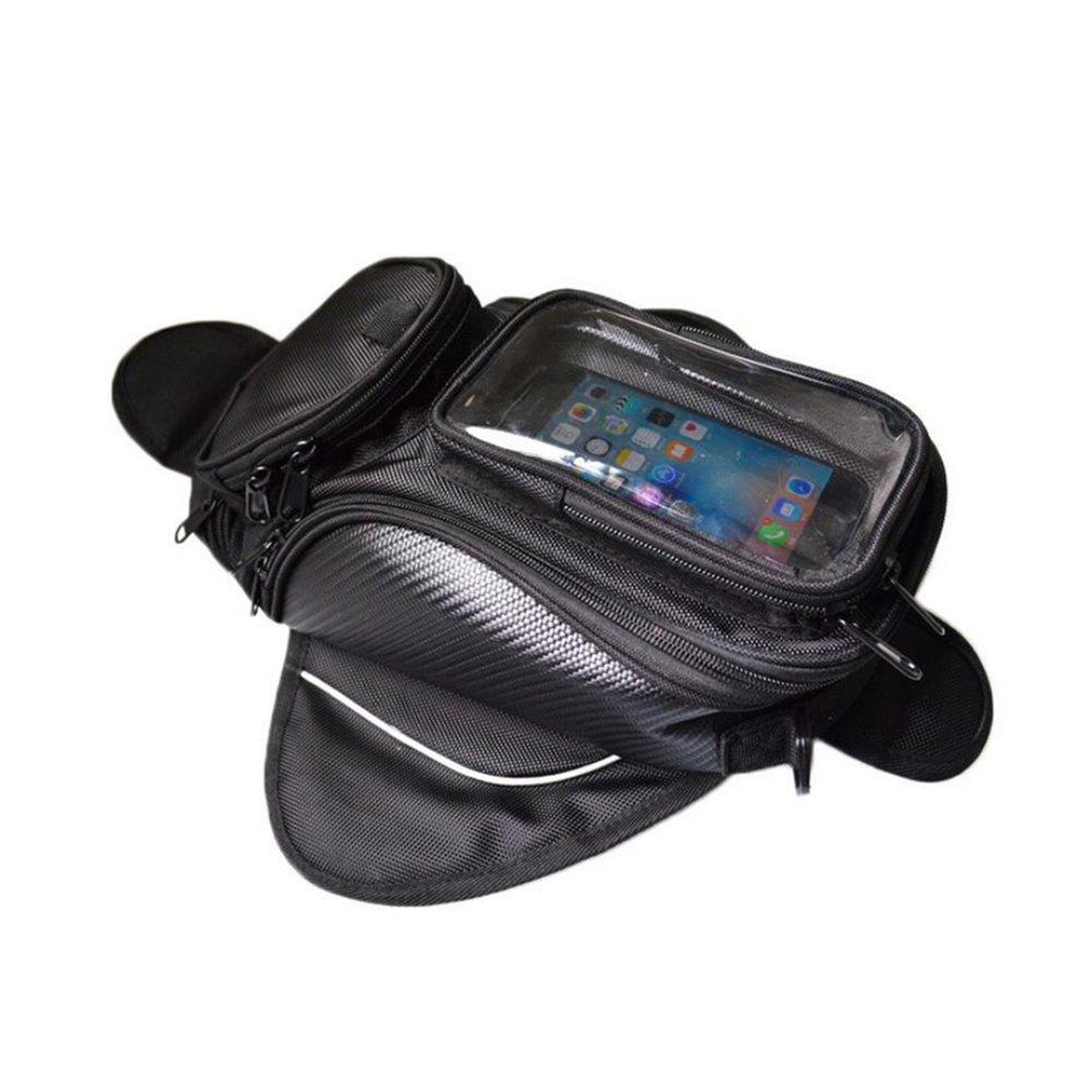 Logas Motorcycle Tank Bag Waterproof Magnetic Saddle Bag for Honda Yamaha Suzuki Kawasaki Harley Lo.gas