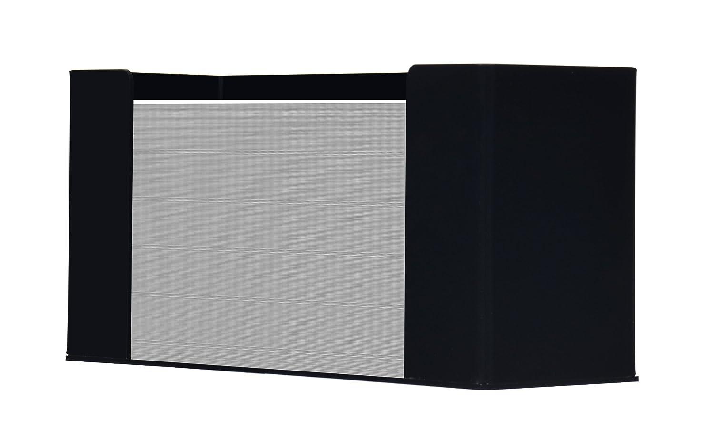 Genuine Joe Paper Towel Dispenser -C Fold, Multifold -6.8x11.5x4.1 -Acrylic -Black S.P. Richards CA 11524