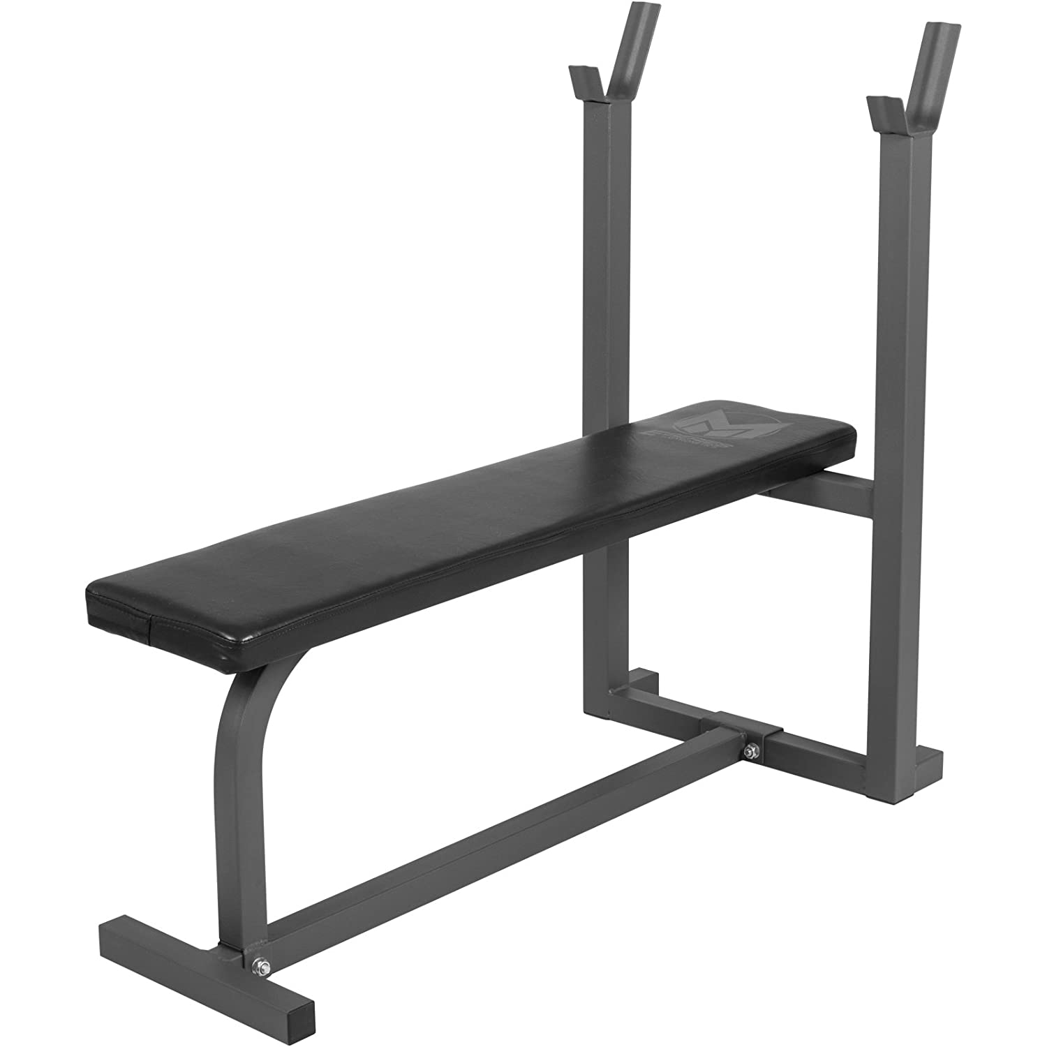 Gyronetics E-Series Flat Bench with Barbell Rack GN011-00064-0001
