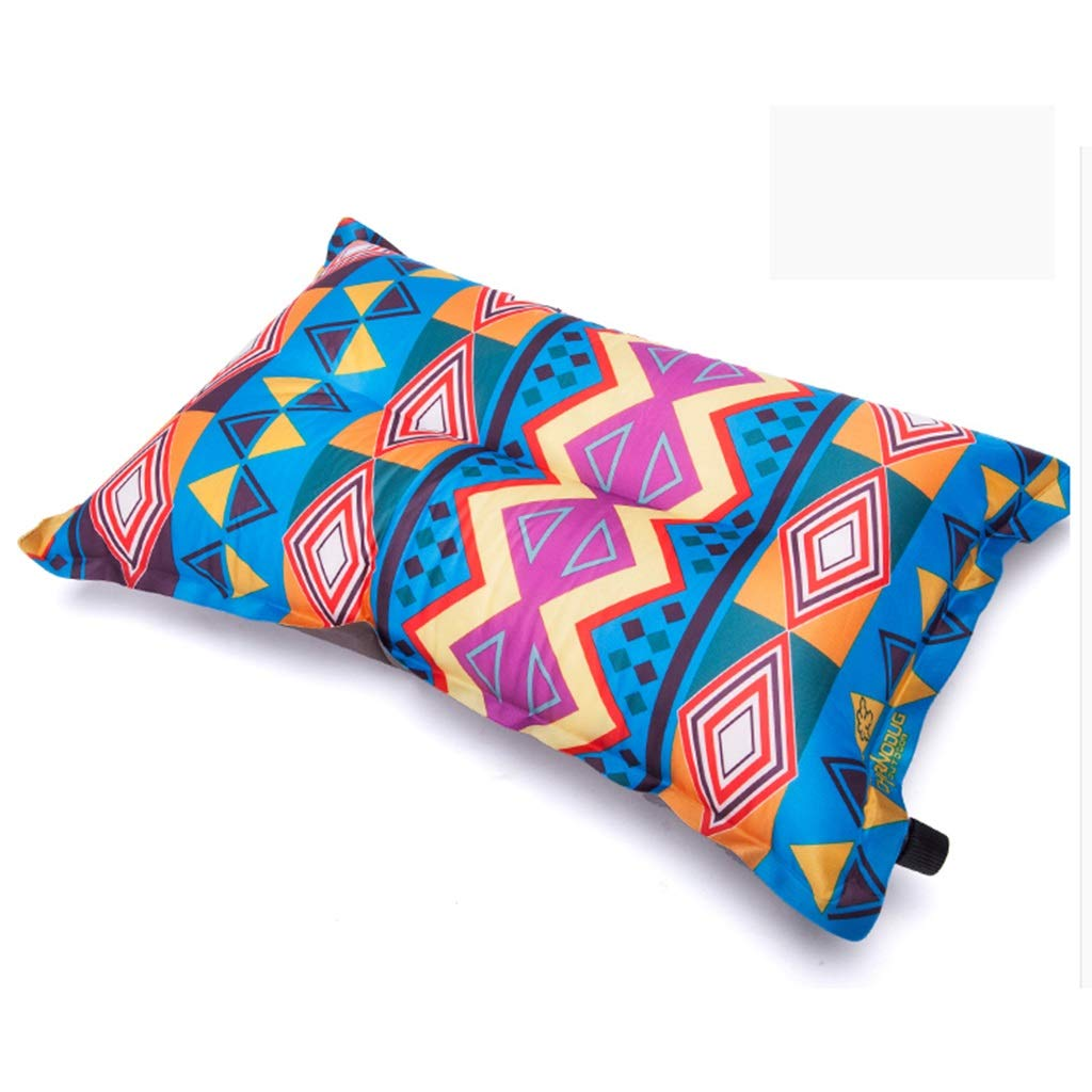 Inflatable pillow Printed for Travel by Air, Outdoor Camping, Ethnic Style