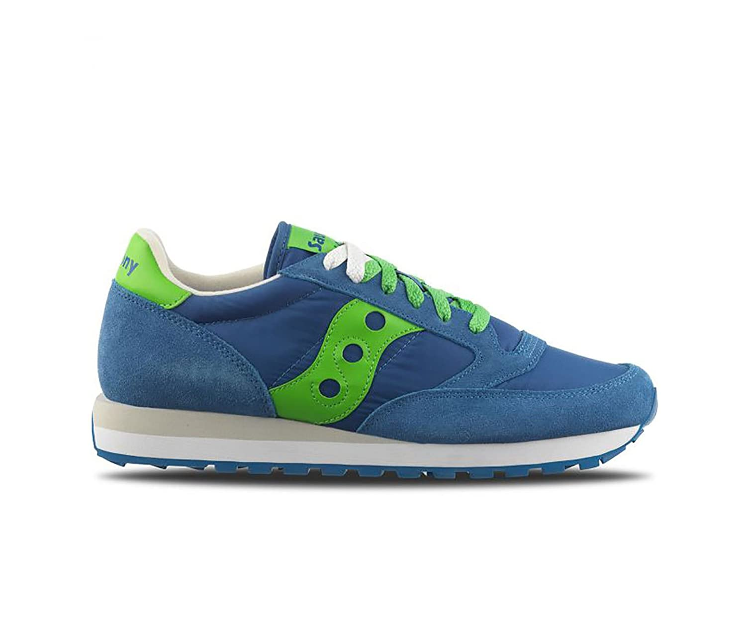 Sneakers Jazz Original Blue - Lime, Hombre. 11,5