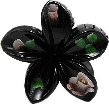 Hawaii Luau Party Dance Performance Mini Plastic Plumeria Flower Vivid Color Pak