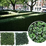 Sunwing 20''x20'' Inches Faux Boxwood Privacy Fence Screen Greenery Privacy Panel (Pack of 6pcs)