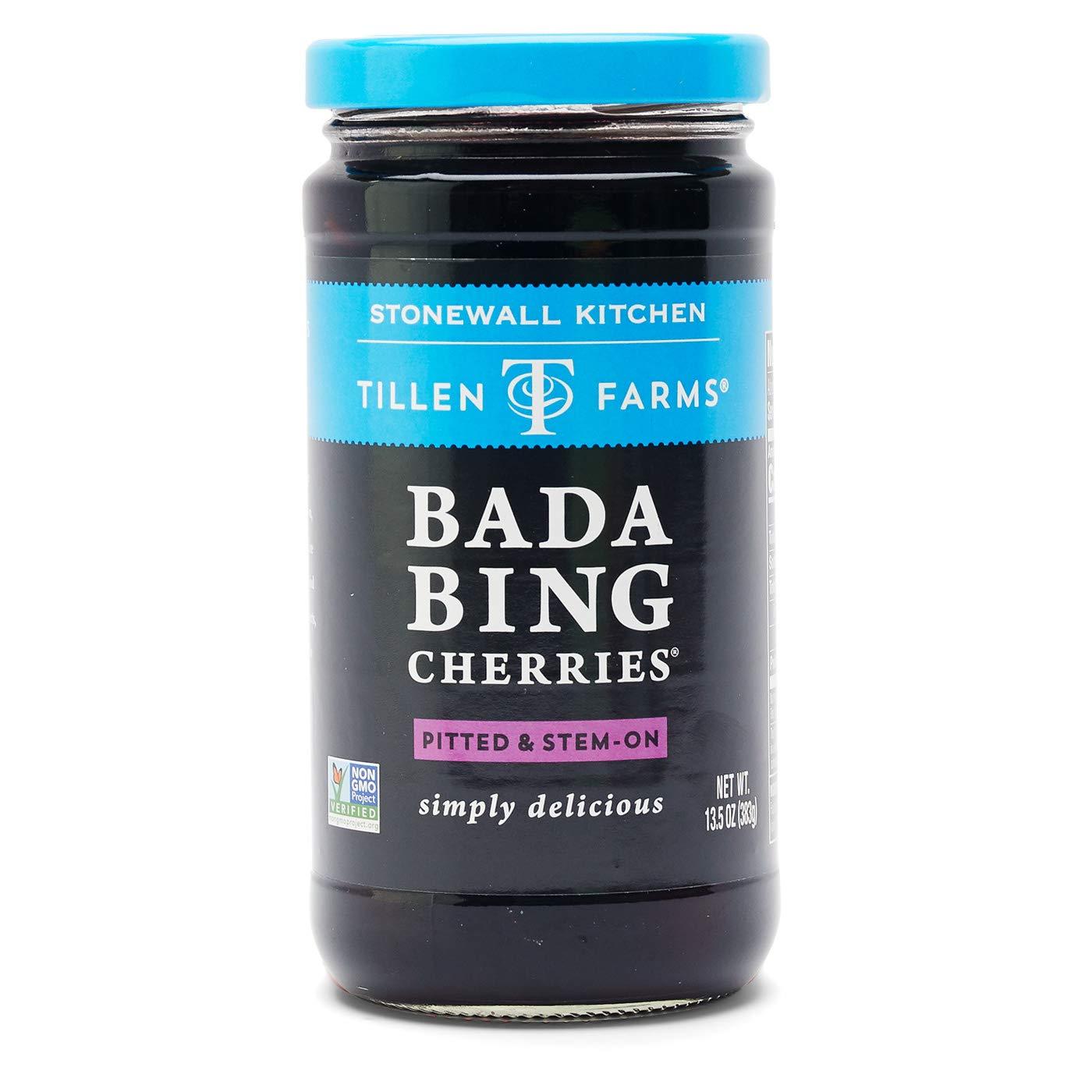 Tillen Farms Bada Bing Cherries, 13.5 oz (Pack of 6)