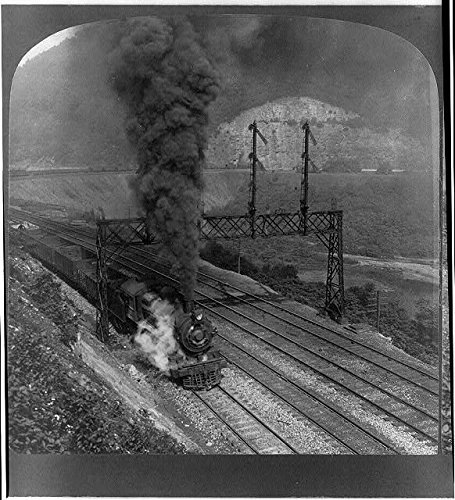 - Infinite Photographs Photo: Freight Train,Horseshoe Curve of Pennsylvania Railroad,RR,PA,c1907,Train,Steam