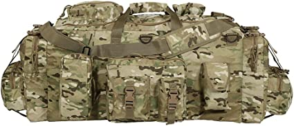 Voodoo Tactical Mojo Load-Out Bag with Backpack Straps Coyote